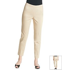 Chaus Side Zip Crop Pant