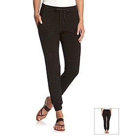 Karen Kane® Drawstring Waist Track Pants