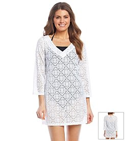 Laundry® Crochet V-Neck Tunic