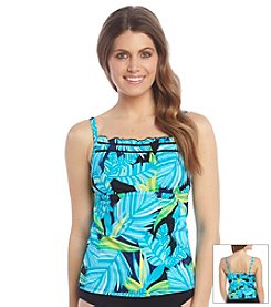 South Point® Retro Tropics D-Cup Tankini