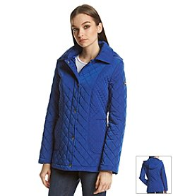 Calvin Klein Barn Quilt Coat