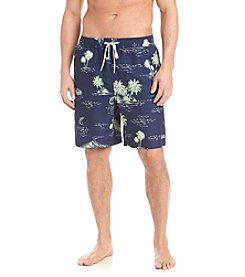 Le Tigre® Tropical Print Swim Trunk