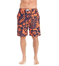 Le Tigre® Palm Print Swim Trunk
