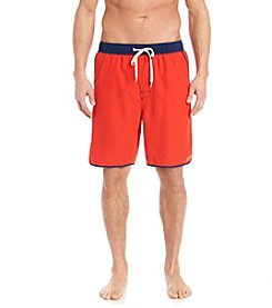Le Tigre® Solid Piped Swim Trunk