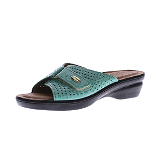 ef1fd40ab6a5 ... Carrie Slide Sandals Ladies - Black - 8 M - UPC 840233853277 product  image for Flexus® by Spring Step® Women s