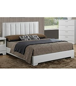 Baxton Studios Carlson Queen Size Modern Bed