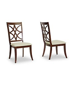 Baxton Studios Glenview Modern Set of 2 Dining Chairs