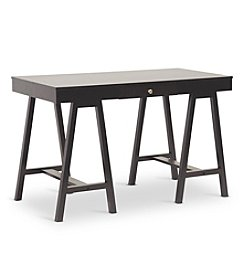 Baxton Studios Arvada Dark Brown Modern Desk