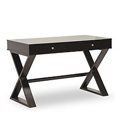 Baxton Studios Ottwell Dark Brown Modern Desk