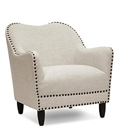 Baxton Studios Seibert Linen Modern Accent Chair