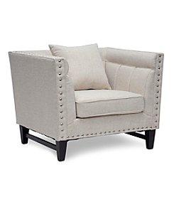 Baxton Studios Stapleton Linen Modern Accent Chair