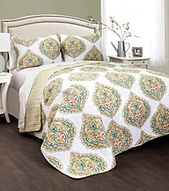 Lush Decor Sylvia 3-pc. Quilt Set