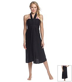Athena® Finesse Solid Coverup Dress
