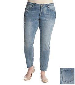 Jessica Simpson Plus Size Kiss Me Super Skinny Jeans