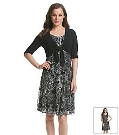 Perceptions Lace Jacket Dress