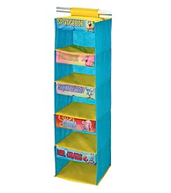 Nickelodeon® Spongebob Squarepants 5-Shelf Wardrobe Organizer