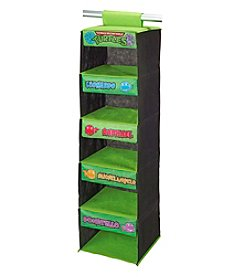 Nickelodeon® Teenage Mutant Ninja Turtles Retro 5-Shelf Wardrobe Organizer