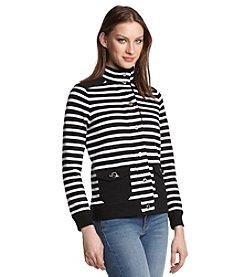 Lauren Ralph Lauren® Mockneck Cotton Jacket