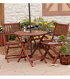 Southern Enterprises Versailles 3-pc. Folding Bistro Set