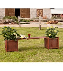 Southern Enterprises Versailles Planter Holder Bench