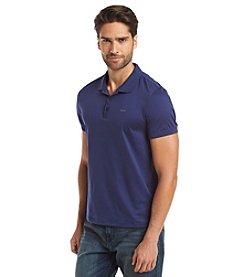 Calvin Klein Men's Short Sleeve Jersey Interlock Polo