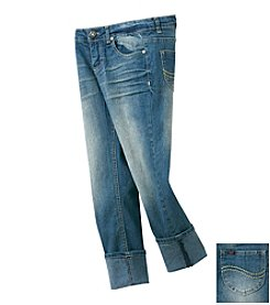 Lee® Girls' 7-16 Skinny Cropped Jeans