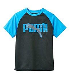 PUMA® Boys' 8-20 Short Sleeve Raglan Tee