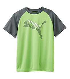 PUMA® Boys' 8-20 Short Sleeve Cat Tee