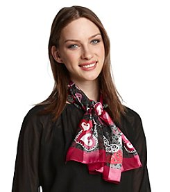 Basha Whimsical Hearts Scarf