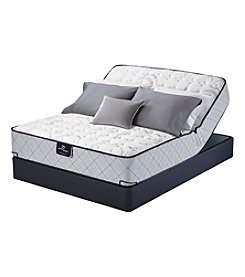 Serta Perfect Sleeper Lockland Firm Mattress & Adjustable Base Set
