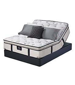 Serta Perfect Sleeper East Port Pillow-Top Mattress & Adjustable Base Set
