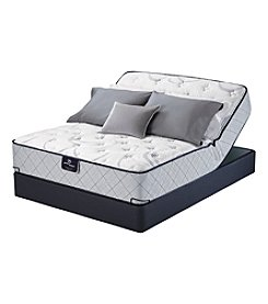 Serta Perfect Sleeper Trescott Plush Mattress & Adjustable Base Set