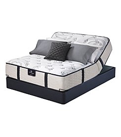 Serta Perfect Sleeper East Port Plush Mattress & Adjustable Base Set