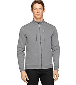 Calvin Klein Men's Long Sleeve Full Zip Moto Jacket