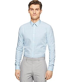 Calvin Klein Men's Fine Check Cord Gingham