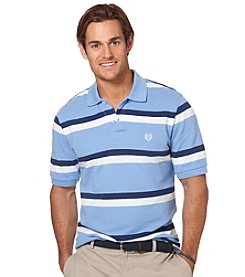 Chaps® Men's Short Sleeve Windfall Stripe Pique Polo