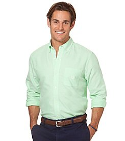 Chaps® Men's Long Sleeve Solid Oxford Woven
