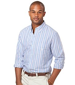 Chaps® Men's Long Sleeve Striped Oxford Woven