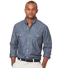 Chaps® Men's Long Sleeve Chambray Woven