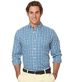 Chaps® Men's Long Sleeve Ironhill Plaid Woven