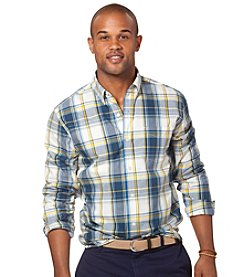 Chaps® Men's Long Sleeve Masthead Plaid Woven