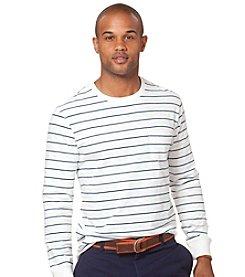 Chaps® Men's Long Sleeve Bowline Stripe Henley