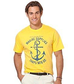 Chaps® Men's Short Sleeve Marine Graphic Tee