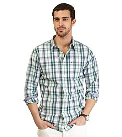 Nautica® Men's Long Sleeve Medium Plaid Woven