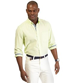 Nautica® Men's Long Sleeve Solid Oxford Woven