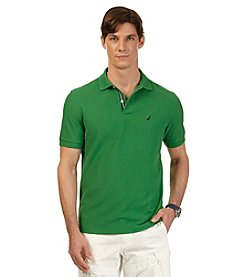 Nautica® Men's Short Sleeve Solid Deck Polo