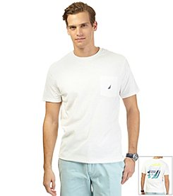 Nautica® Men's Short Sleeve Sailing Crew Tee