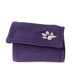John Bartlett Pet Purple Micro Cozy Throw