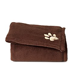 John Bartlett Pet Brown Micro Cozy Throw