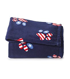 John Bartlett Pet Americana Micro Cozy Throw